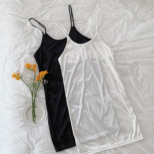 Strap adjustable slip inner Dress