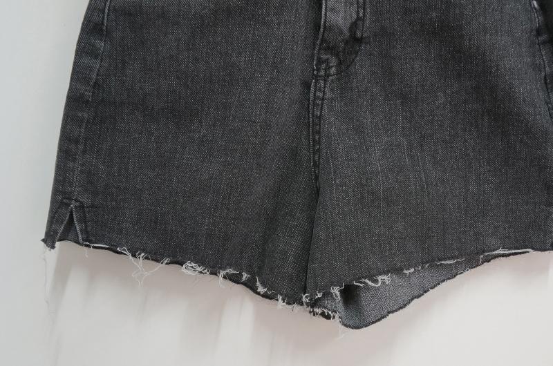 Cutting split short pants
