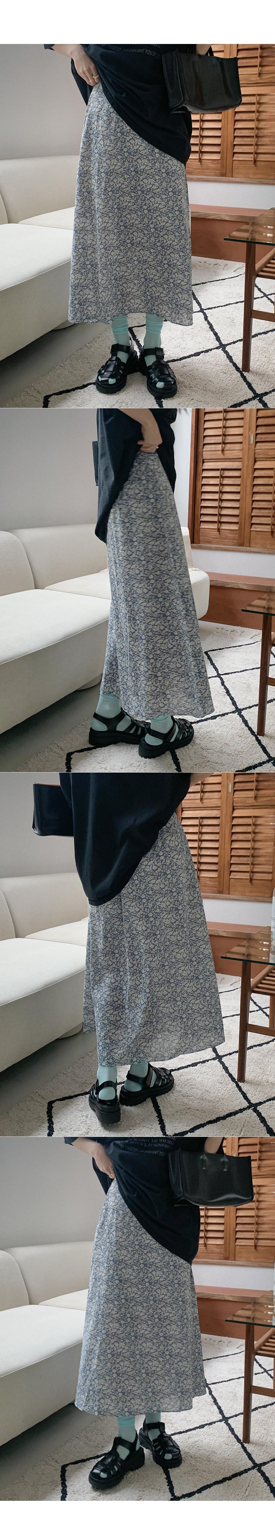 Ice flower skirt