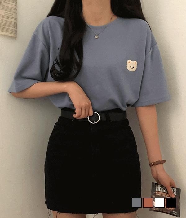 Puffy Gomtangi Patch Overfit Short Sleeve T-Shirt