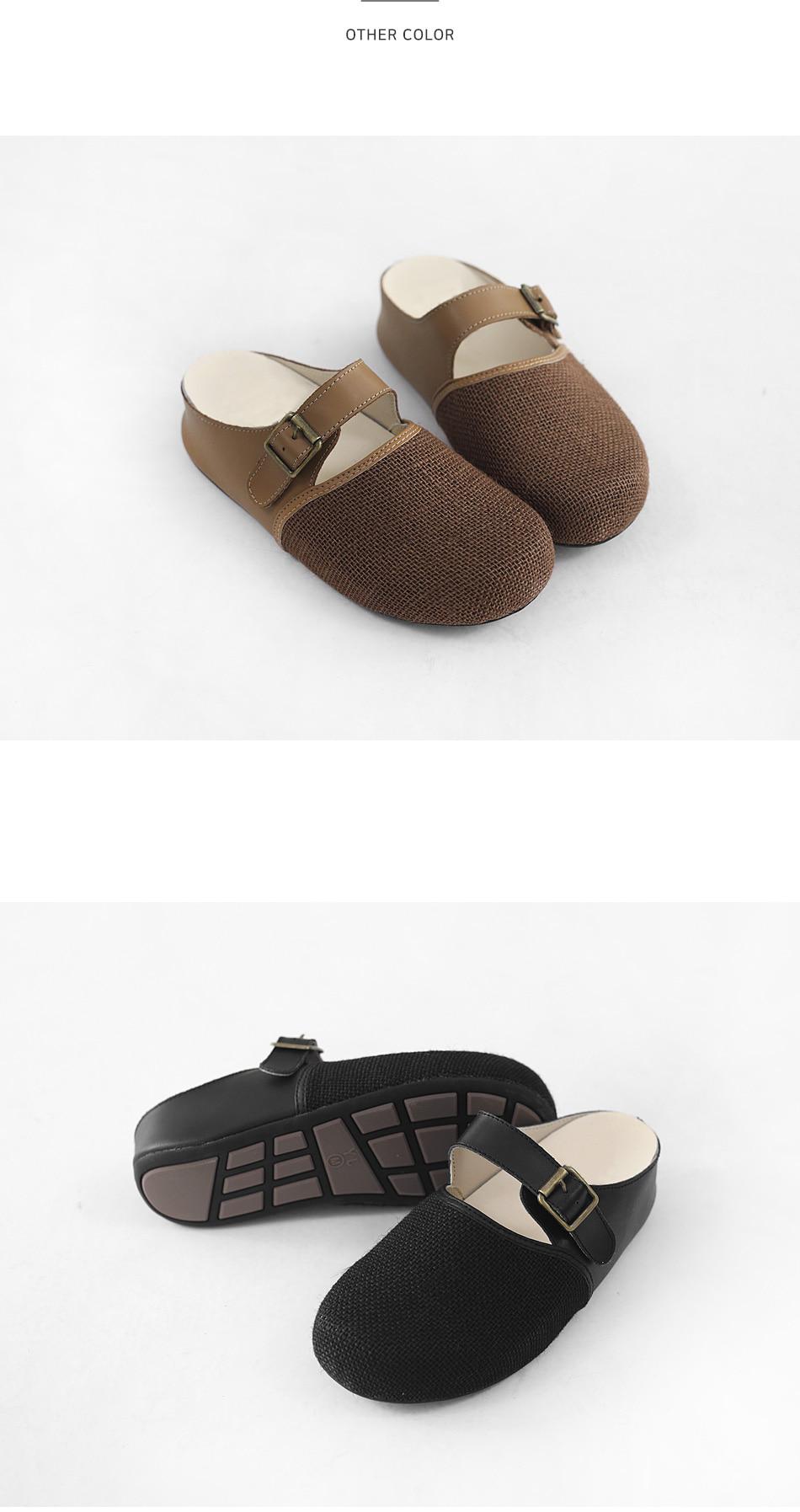 Thong body leather height blocker 4cm