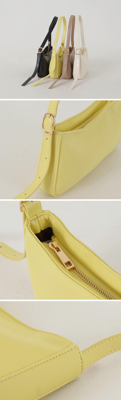 Basic Boat Square Shoulder Bag