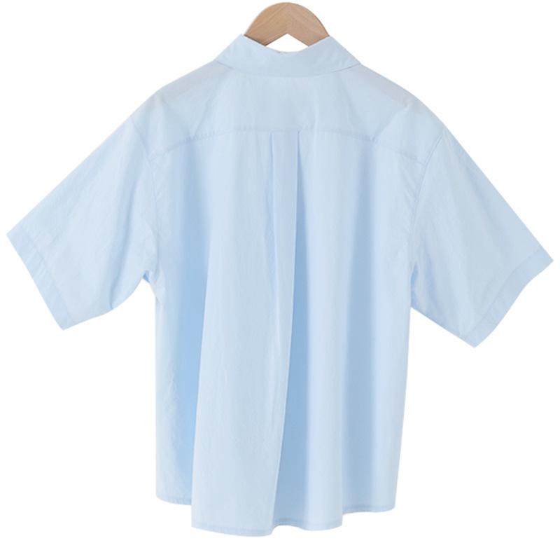 Haiti cotton short-sleeved shirt