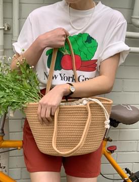 Vegetable short-sleeved T-shirt