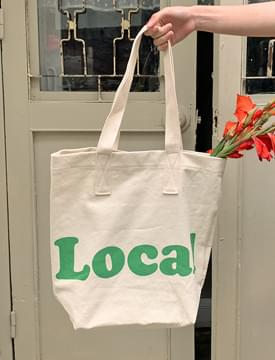 Local printing cotton eco bag