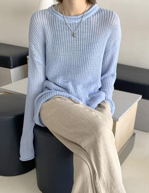 韓國空運 - Stone Net Knitwear 針織衫