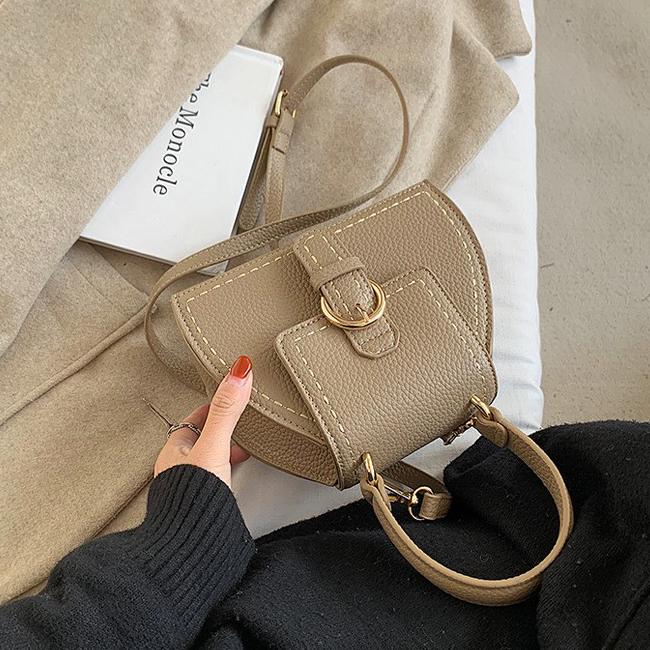 Urban Bucket leather shoulder bag