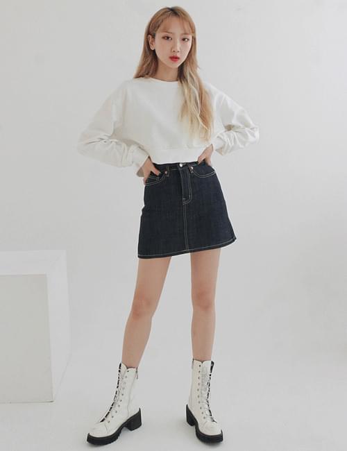 Raw tantan skirt