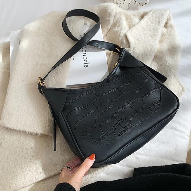 Marian crocker shoulder leather bag
