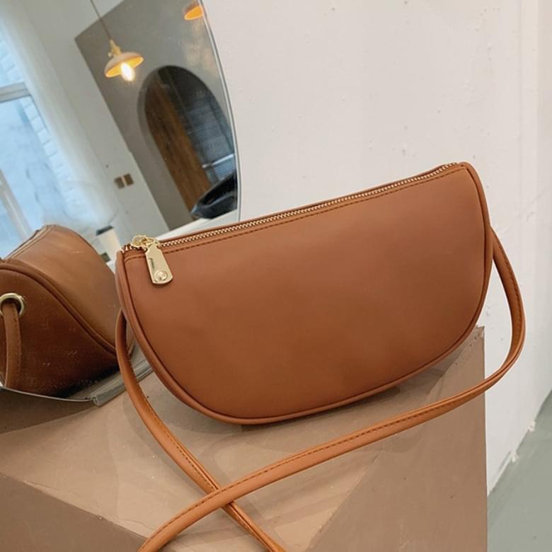 Baby Simple Shoulder Leather Bag