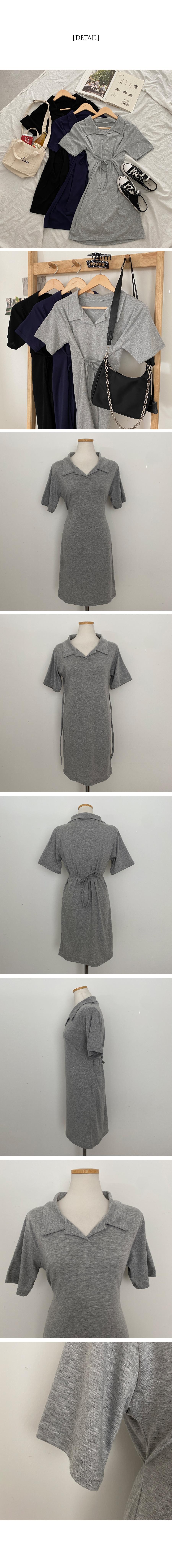Cheeky Collar Mini Dress