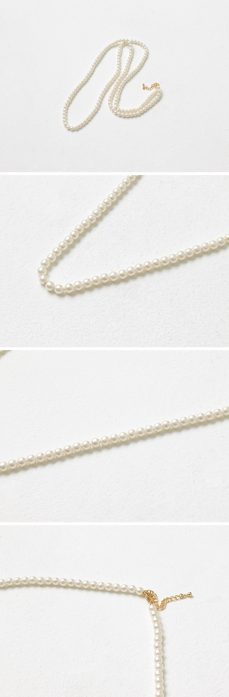 Hepburn Layered Pearl Necklace