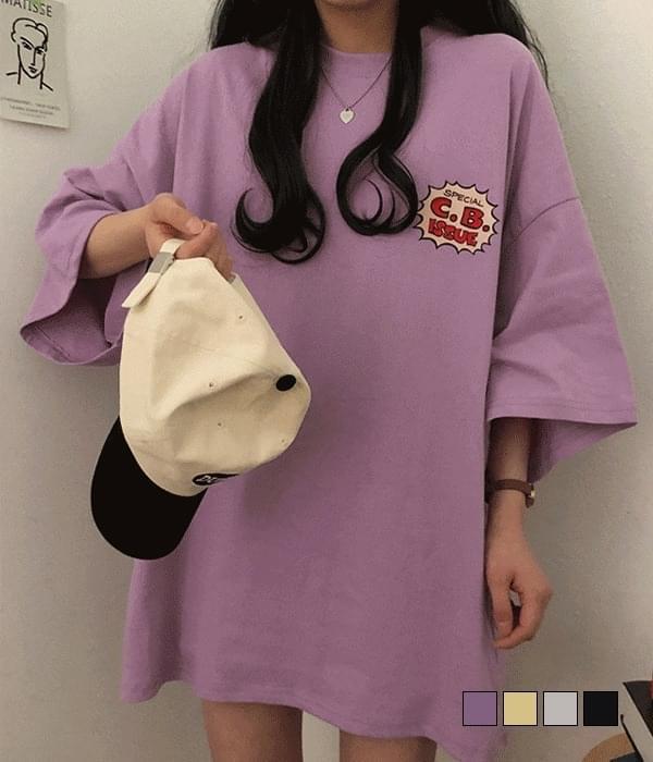 Popeye Warrior Printed Overfit Short Sleeve T-Shirt