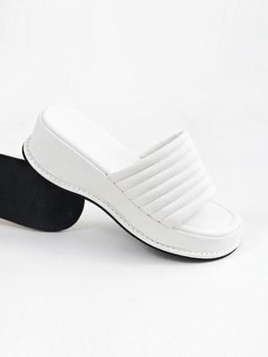 Cozy Day Full Heel Slippers 5cm