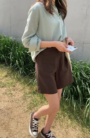 Andy's linen 4-part shorts