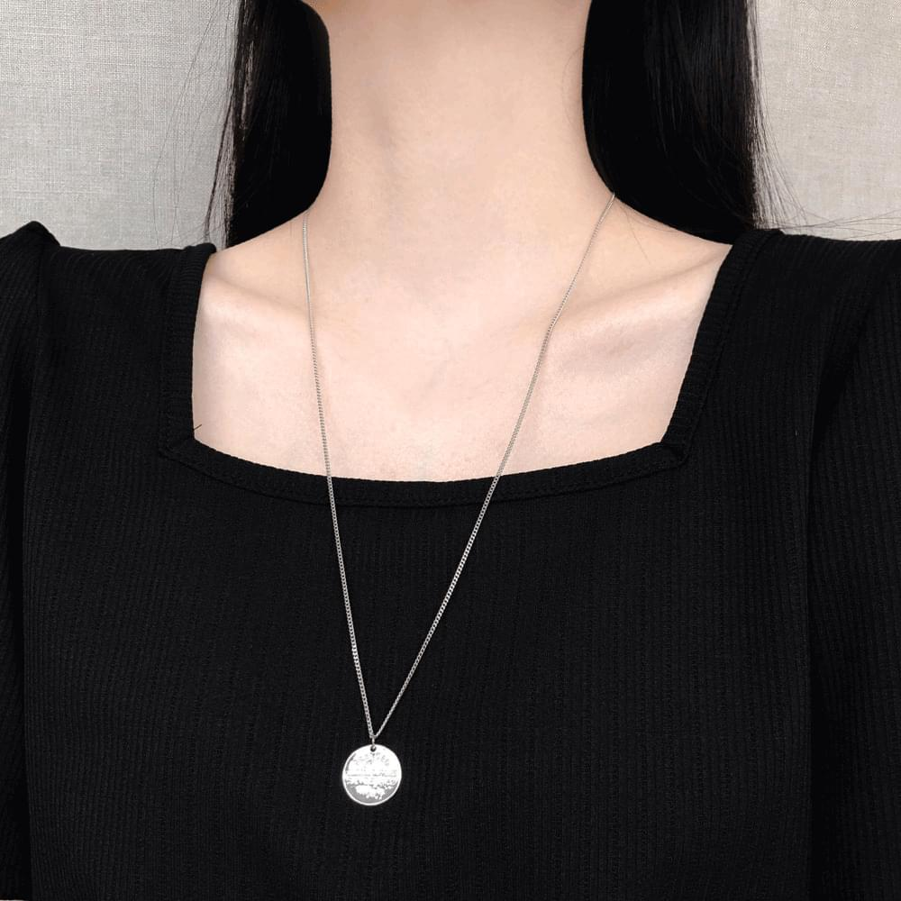 023 Long Coin Necklace