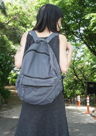 natural washing backpack