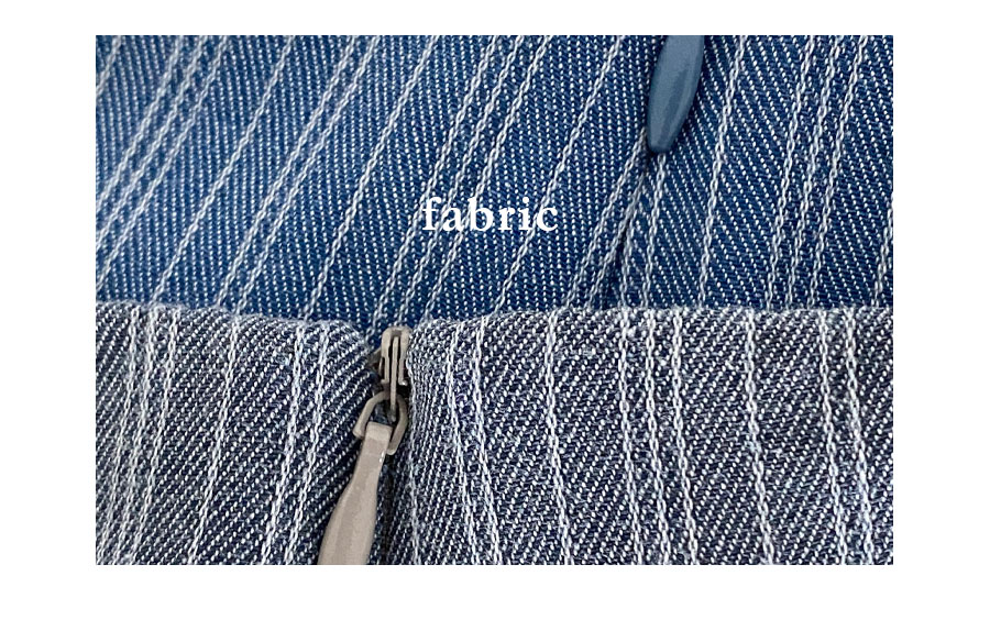 Bian H-line lined mini skirt