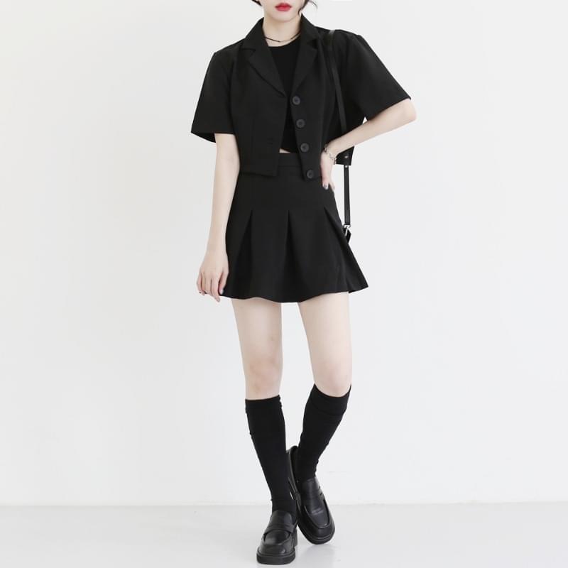 Jazz Jacket Skirt Two Piece Set