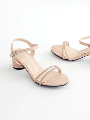 Dressy strap sandals 5cm