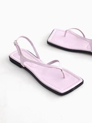 Coordination Closing Slingback Sandals 1cm