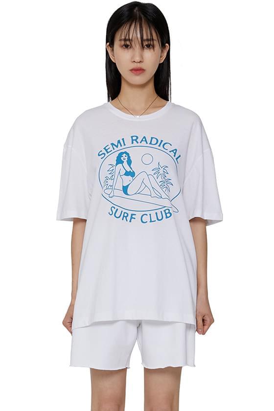 韓國空運 - Bikini print T-shirt 短袖上衣