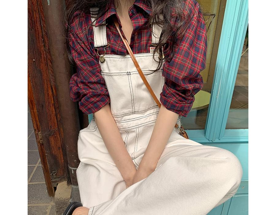 Pure Stitch Overall Cotton Pants