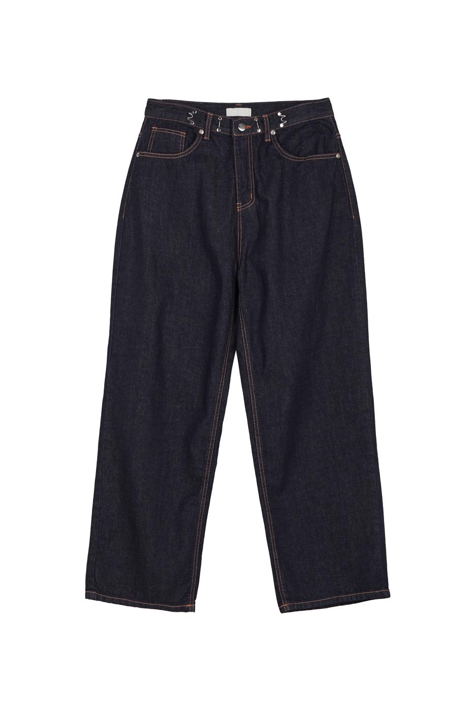 Hook Raw wide jeans