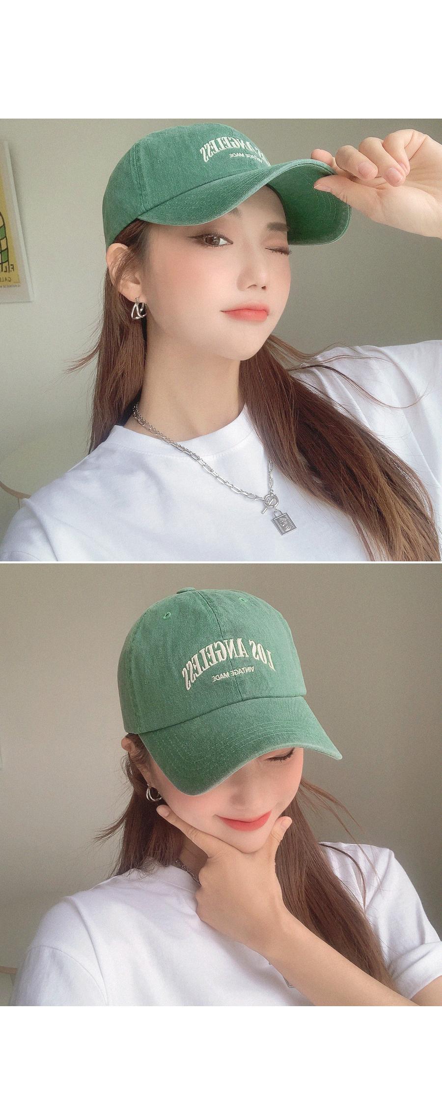 LA Lettering Cap Hat
