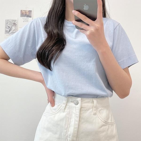 All Seasons, Basic Round Short Sleeve T-shirt