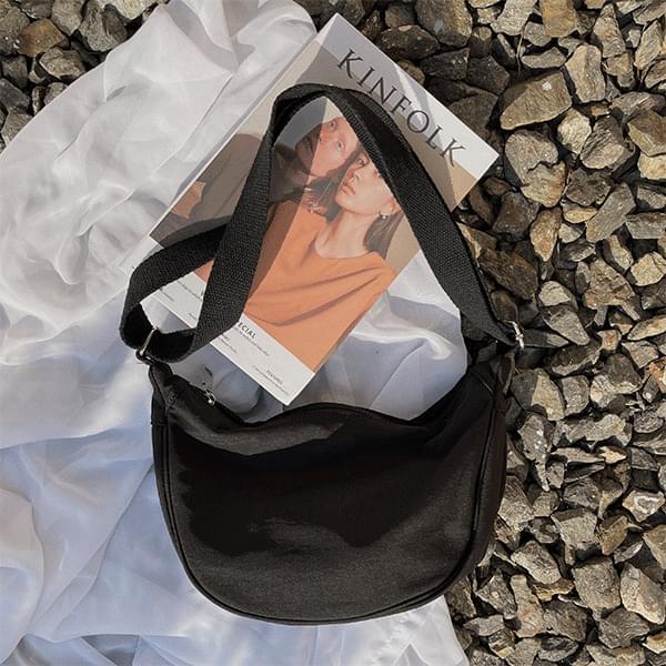 Casual daily item, half moon shoulder bag