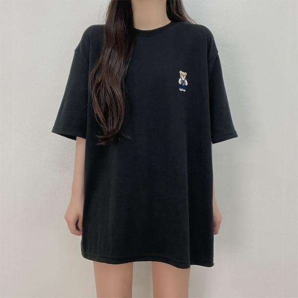 Bear Overfit Short Sleeve T-Shirt