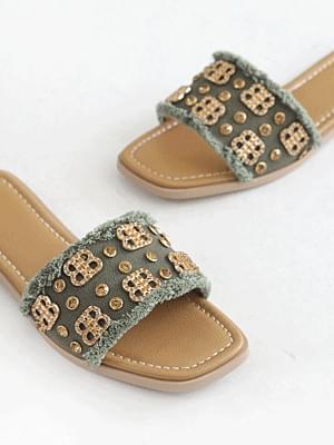 BBling slippers 1cm