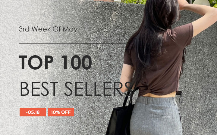 TOP 100 BEST SELLERS - 3rd Week Of May