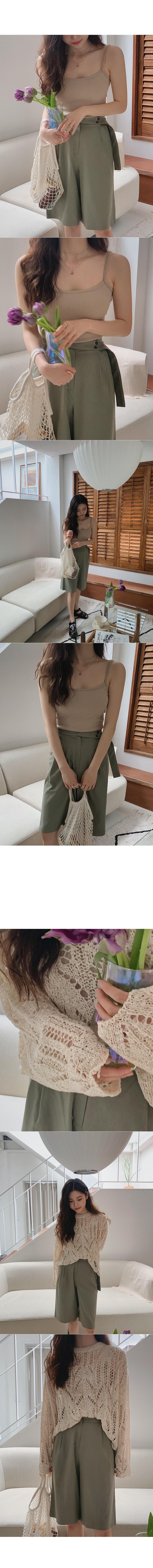 Preview bermuda trousers