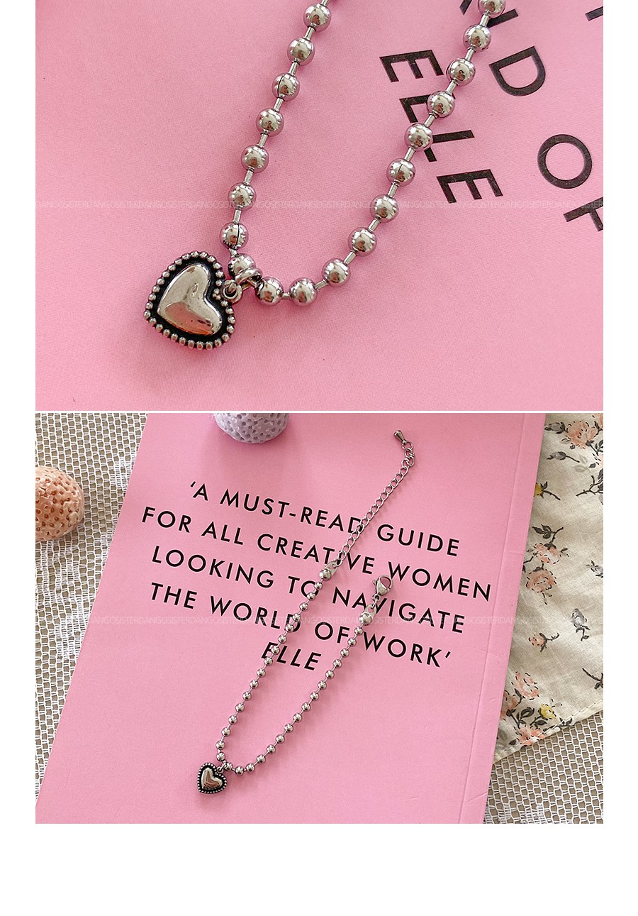 Plump Heart Bracelet