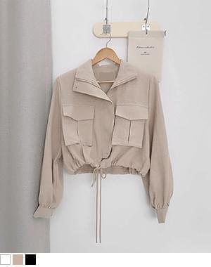 Ruby cropped field jacket