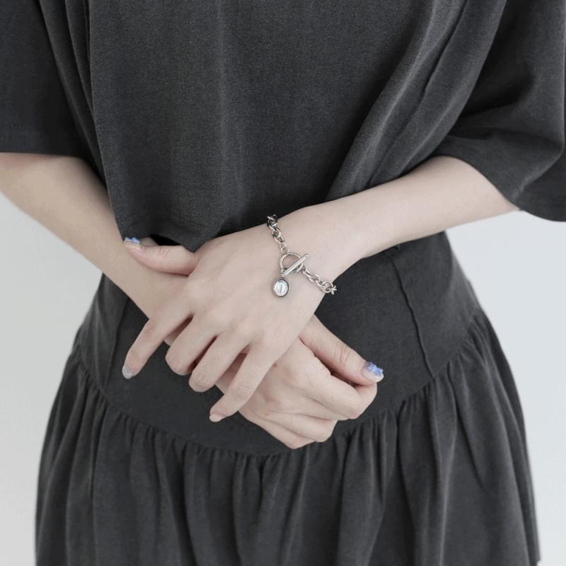 Garden Gemstone Chain Bracelet