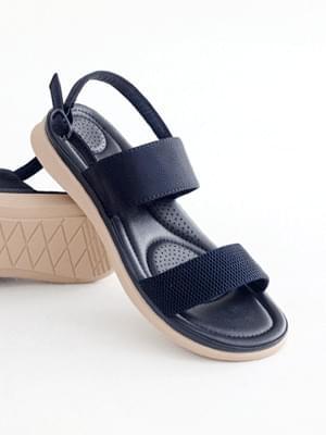 Tension good slingback sandals 3cm
