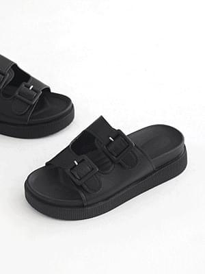 Beatles Full Heel Slippers 5cm