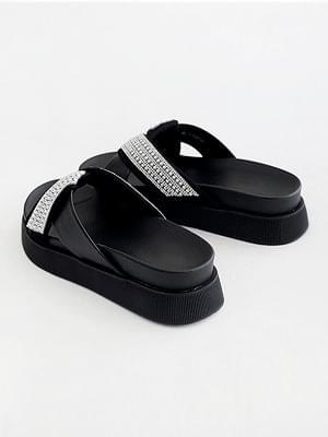 Popular item high-heeled slippers 4cm