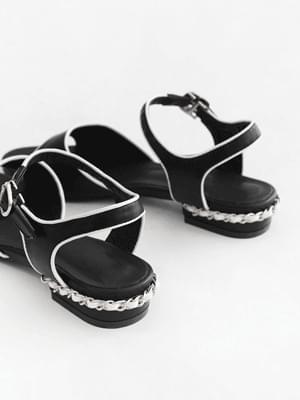 High-quality back-strap sandals 3cm