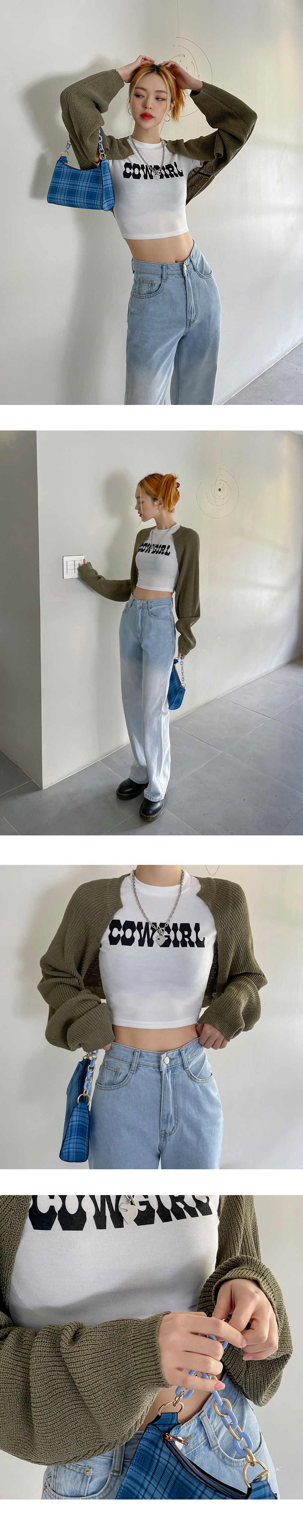 Chica Hachi Bolero crop cardigan