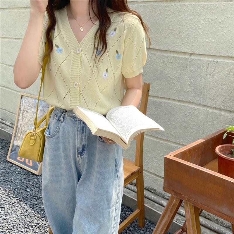 반팔 티셔츠 모델 착용 이미지-S1L21