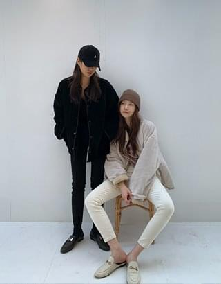 sale) winter Fleece-lined skinny pants