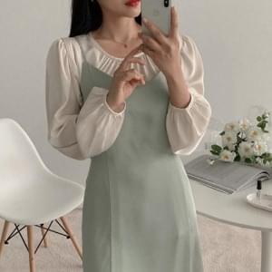 Shine Bustier Long Dress