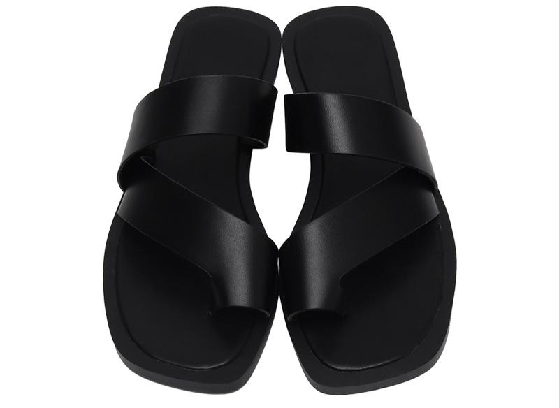 Trunk bold strap slipper_H