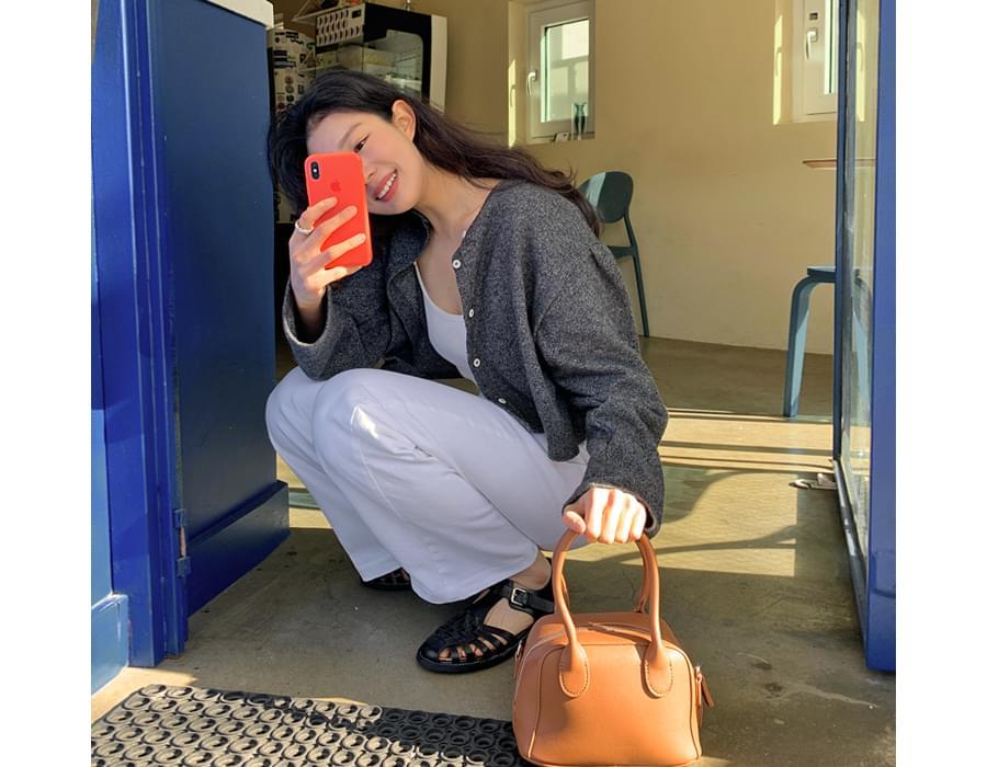 Plump mini tote bag