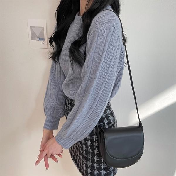 Soft check skirt 裙子