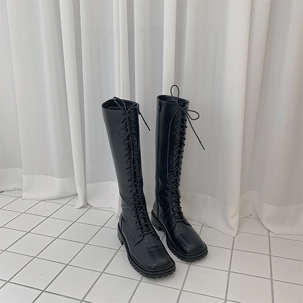 Select lace-up boots